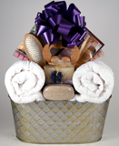 Bath & Body Relaxation Gift Basket