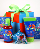 Children's Bath Surprise Gift Basket