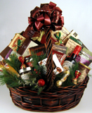Christmas Gourmet Delight Gift Basket
