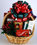 Christmas Munchies Gift Basket