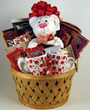 "I ""Heart"" You Gift Basket"