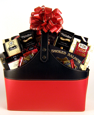 Magazine Tote Gift Basket - Small