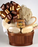 Spa Pleasures Gift Basket